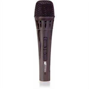 Jammin Pro MyBlack Dynamic Microphone with 5m Cable: Click to enlarge image!