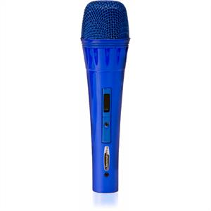 Jammin Pro MyBlue Dynamic Microphone with 5m Cable: Click to enlarge image!