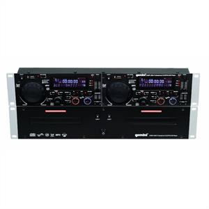 Gemini CDMP-2600 Dual DJ CD MP3 USB Player Double Deck : Click to enlarge image!
