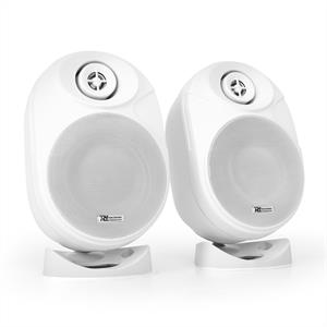 Power Dynamics PDISF5W 5 Active Speaker Pair 120W  White