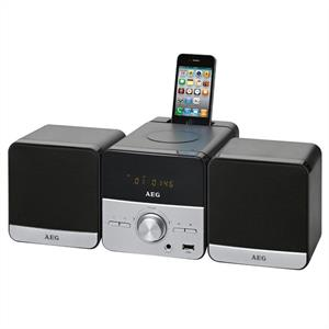 AEG MC 4458 iP iPhoneiPod Docking Station CD Player USB MP3