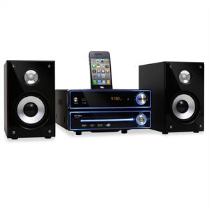 Inovalley CD03D Hifi Stereo iPod iPhone Docking Station CD Player FM USB SD