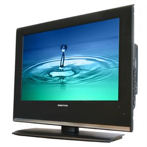"UNITED LTW26X01D LCD TV 26"" with DVD player MPEG4: Click to enlarge image!"