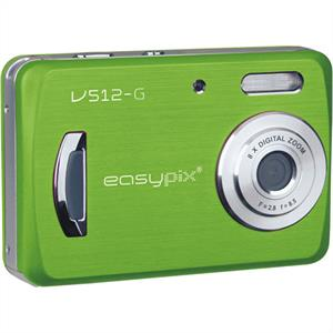 Easypix V512N Green Digital Camera: Click to enlarge image!