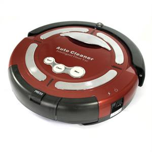 Klarstein 'Cleanfriend' Robot Vacuum Cleaner - Red: Click to enlarge image!