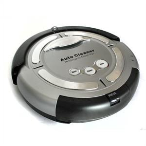 Klarstein 'Cleanfriend' Robot Vacuum Cleaner - Silver: Click to enlarge image!