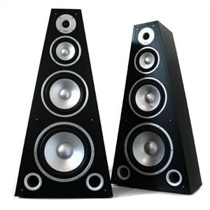 Pair LTC SP-800 4-way Pyramid Hifi Speakers: Click to enlarge image!