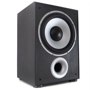 "LTC SW100 10"" Active Home Cinema Subwoofer 100W black: Click to enlarge image!"
