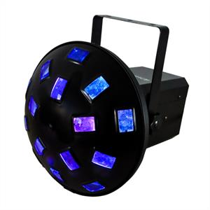 Ibiza LED DJ Disco Light Mushroom Effects 4 DMX RGB: Click to enlarge image!