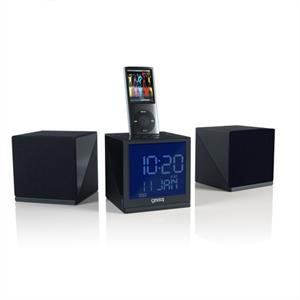 Gear4 CRG70W iPod  iPhone Docking Station Alarm Clock Radio