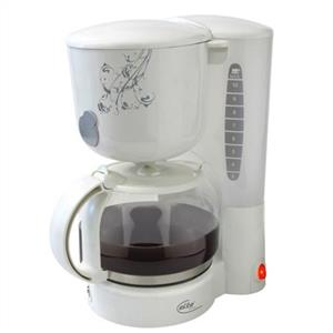 Elta KM207 Floral Design Coffee Machine: Click to enlarge image!