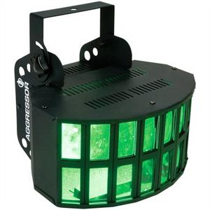 American DJ Aggressor Tri LED Disco Rainbow Light Effect: Click to enlarge image!