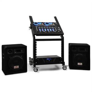 Complete DJ Package - Rack Star Series 'Neptunes Palace' 250 people: Click to enlarge image!
