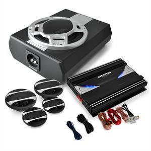 4.1 Car HiFi System Black Line 560 Amplifier Speaker Set