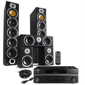 Hifi System &amp;quot;Bass Lover&amp;quot; HD Home Cinema Theatre Amp &amp; Tower Speakers: Click to enlarge image!
