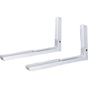 Microwave Mounting Brackets - (White) 70kg: Click to enlarge image!