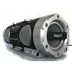 Marquant MPR-51CD/MP3 Boombox Ghettoblaster MP3 CD Tape: Click to enlarge image!