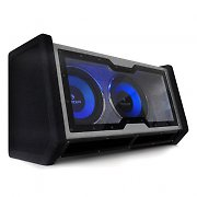 B-Stock - Auna Dual In Car Hifi Subwoofer 2x12&quot; Bass + Light Effects 