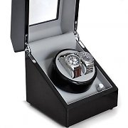 Motorised Watch Winder Display Case with 2 watch capacity