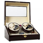Classic Watch Winder Display Case - Holds 10 Watches