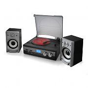 Auna HiFi System USB SD MP3 Turntable Tape Record
