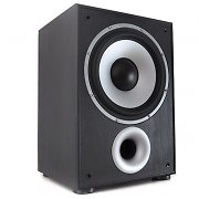 "LTC SW100 10"" Active Home Cinema Subwoofer 100W black"