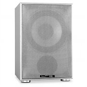 "LTC SW100 10"" Active Home Cinema Subwoofer 100W silver"