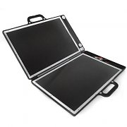 13W Compact portable travel fold up briefcase solar panel
