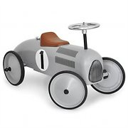 Marquant Vintage Kids Ride on Toy Car - Silver Design