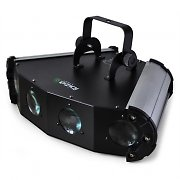 Ibiza LE-4 LED 4-Way Moonflower Light Effect 6-Channel DMX