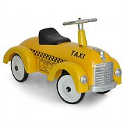 Marquant Vintage Kids Ride-On Toy Taxi Pedal Car Yellow