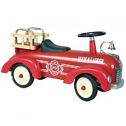 Marquant Vintage Kids Ride-On Toy Fire Truck Car Red