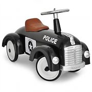 Classic Police Car for Kids - Ride on Toy