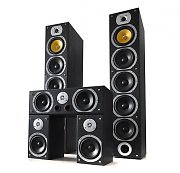 Beng V9B 5 Channel Home Theatre Speakers Set Black 1240W MAX