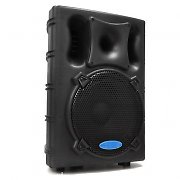 "Liquid Power 15"" Active PA DJ Speaker USB SD 800W Max"