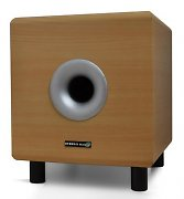 "Hyundai Multicav 8"" Beige Active Home Theater Subwoofer 100W"
