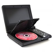 "Denver MT-766 Portable DVD Player 7"" LCD Display USB SD"