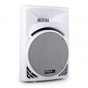 "Ibiza 15"" Active DJ PA Speaker 400W ABS Moulded Housing - White"