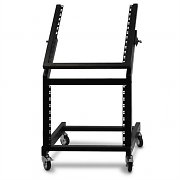 Ibiza DJ PA Rack Mount Stand 12 + 9U Mobile Frame