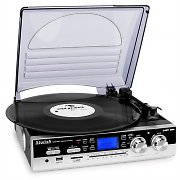 Compact TT-186E Record Turntable System with USB & SD Recording