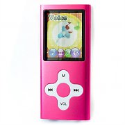 Marquant MMP4-10P Portable MP3 MP4 Player 4GB Pink