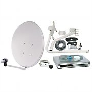Digital Satellite System Receiver Dish 60cm Complete Set