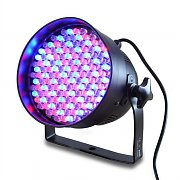 Ibiza LP64LED PAR64 LED Spotlight DMX 20W 177 LEDs RGB