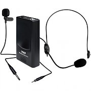 KAM 4745 VHF Wireless Headset and Lapel Microphone 174.5 MHz
