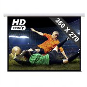 "Motorised Home Cinema Projector Screen HDTV - 141"" x 106"""