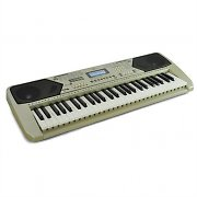 Schubert 54-Key Beginner Electronic Keyboard with Recording - Gold