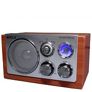 Majestic-Audiola Retro Radio 50s Style Wood Kitchen Radio