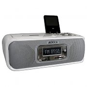 Audiola AHB-061-IC iPod docking Station CD MP3 USB Radio Silver