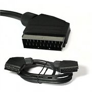 SCART Cable EURO-SCART 1.5m TV-DVD Cable