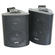 Pair Skytec 2-Way Commercial Speakers for Pubs & Bars - Black